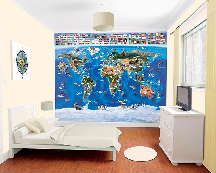 MAP OF THE WORLD1