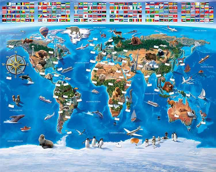 MAP OF THE WORLD2